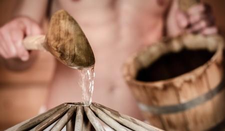 Sauna römisches Dampfbad