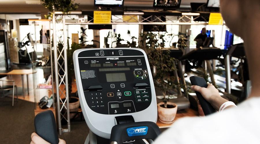 Kiels Fitness Studio mit Stepper