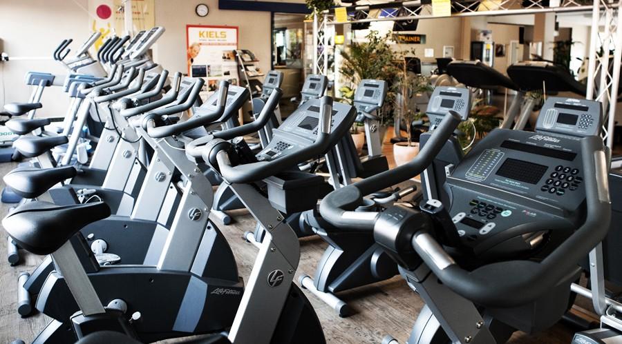 Cardiogeräte im Kiels Fitnessstudio